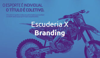 Escuderia X - Case by Pivô Brands